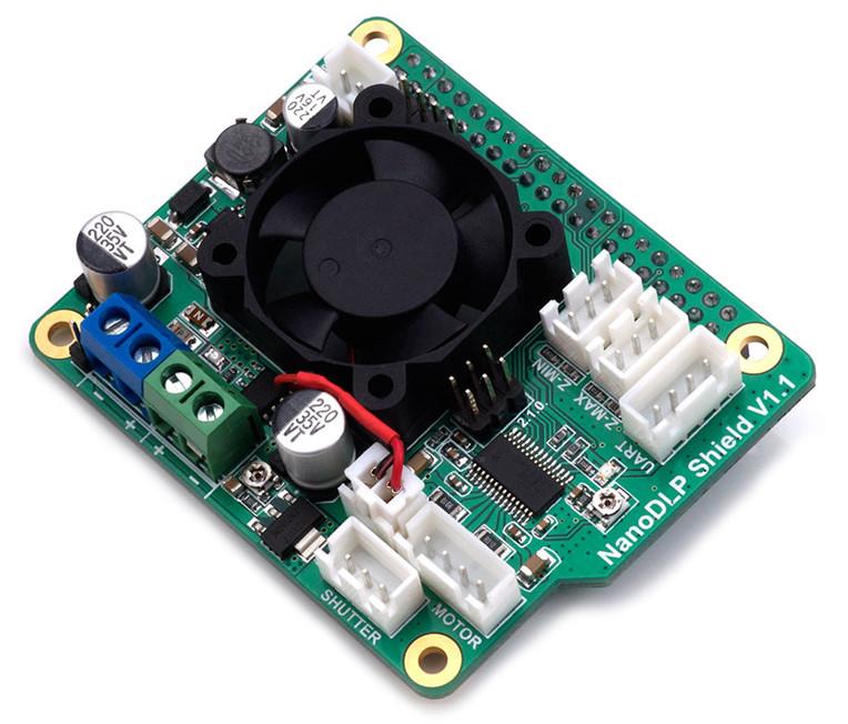 Raspberry Pi and the nanoDLP Shield v1 1   The Wanderer
